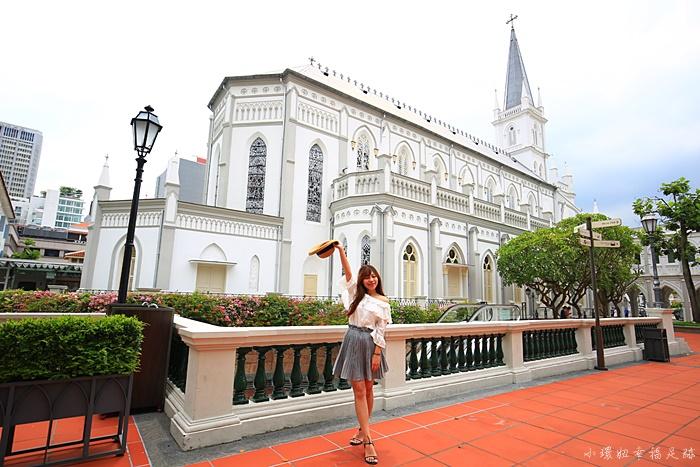 【新加坡市區景點】讚美廣場Chijmes,萊佛士酒店Raffles周圍散策