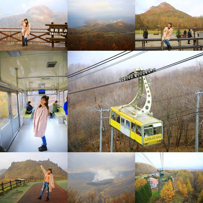【有珠山纜車】北海道洞爺湖必去行程,眺望洞爺湖和火山口之美