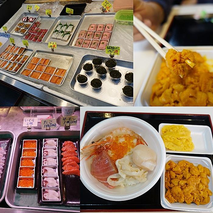 【青森古川市場】自製海鮮丼飯,超級客製化,想吃甚麼自己配!