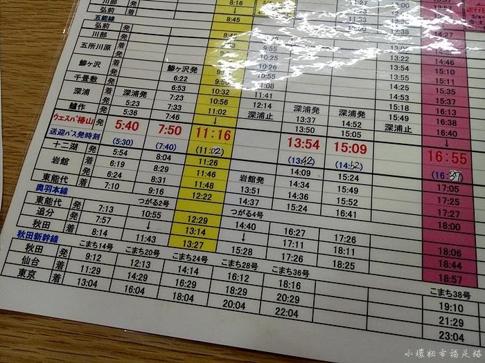 【青森-秋田.五能線一日遊】搭乘觀光列車玩十二湖.不老不死溫泉 @小環妞 幸福足跡