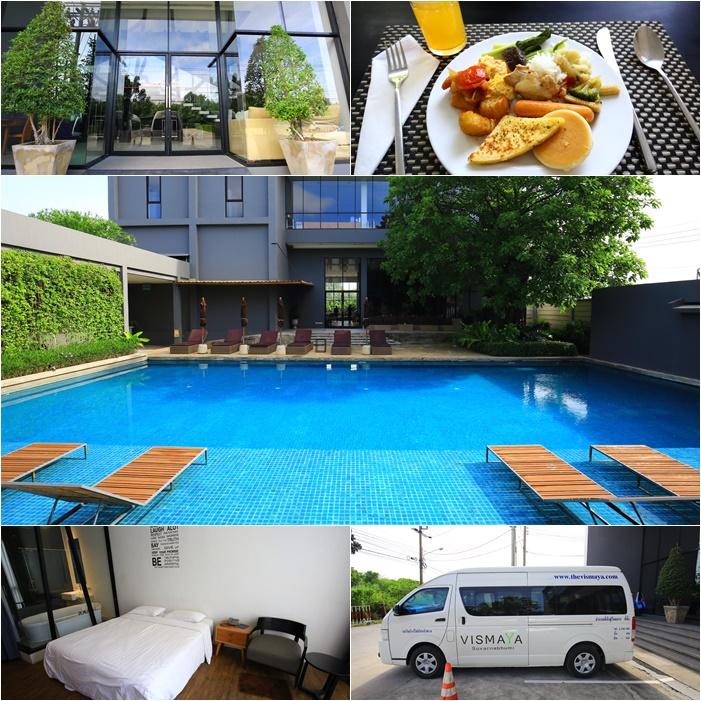 【曼谷機場住宿】Vismaya飯店,蘇汪納蓬機場BKK附近便宜CP高