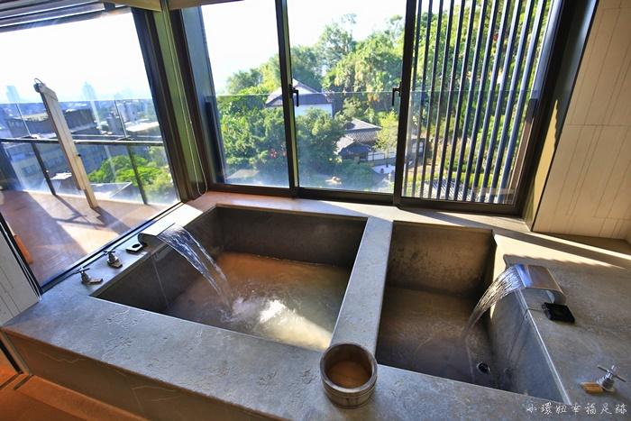 【北投麗禧溫泉酒店】超乎想像的泡湯住宿,裸湯內有蘋果免費吃 @小環妞 幸福足跡