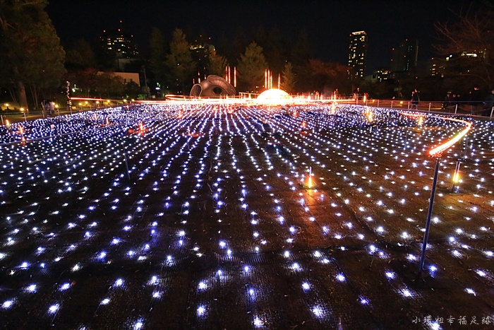 【東京六本木點燈】MidTown芝生廣場,東京過聖誕節必看燈海(影片) @小環妞 幸福足跡