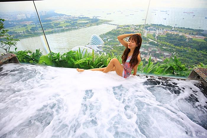 【新加坡金沙酒店】此生必住的飯店!無邊際泳池早中晚各泡一次 @小環妞 幸福足跡