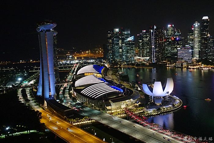 【新加坡摩天輪Singapore Flyer】夜景超美!先買好門票更優惠