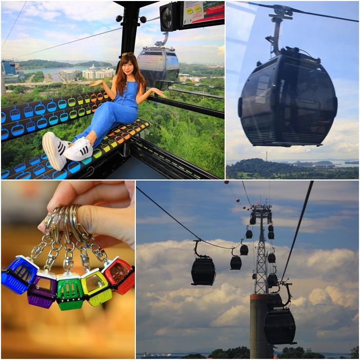 【新加坡珠寶盒纜車】聖淘沙必搭!花柏山線&聖淘沙線各站景點