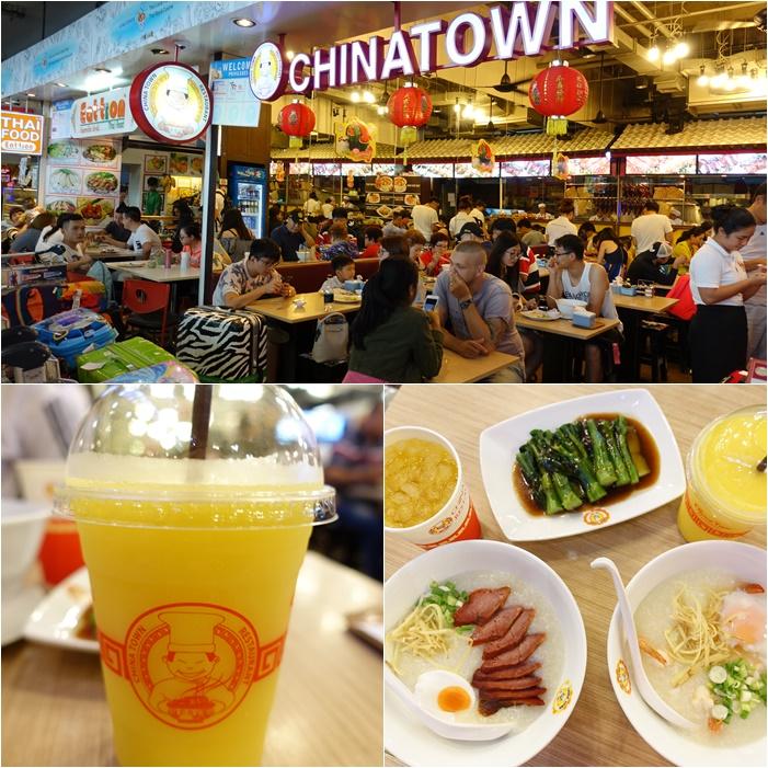 【曼谷蘇汪納蓬機場(BKK)美食】CHINATOWN,懷念的家鄉味