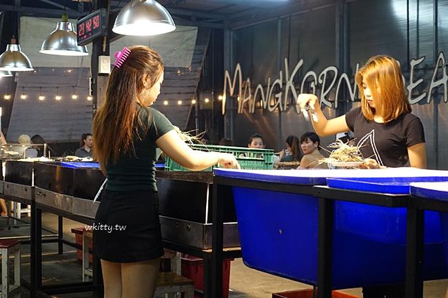 【曼谷海鮮燒烤499吃到飽】Mangkorn Seafood,泰國蝦吃到怕! @小環妞 幸福足跡