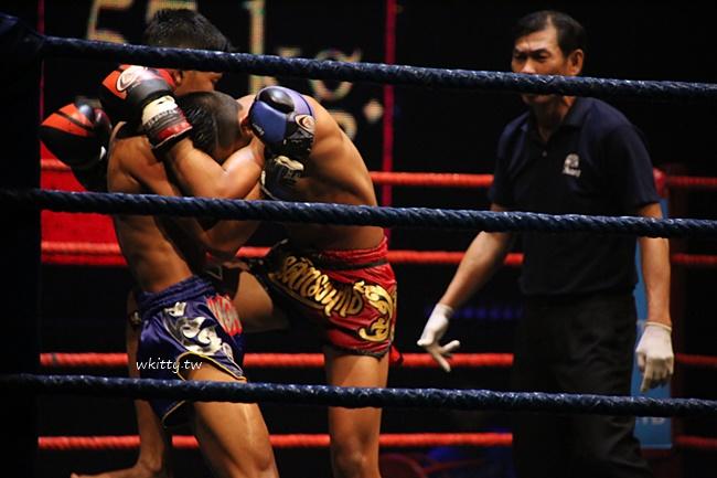 【曼谷泰拳秀】Muay Thai,必看!武打非常到位,還有兩場Live泰拳賽 @小環妞 幸福足跡