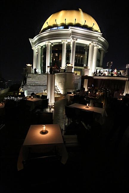 【曼谷酒吧推薦】Sirocco bar,蓮花大飯店63F,醉後大丈夫拍攝場景 @小環妞 幸福足跡