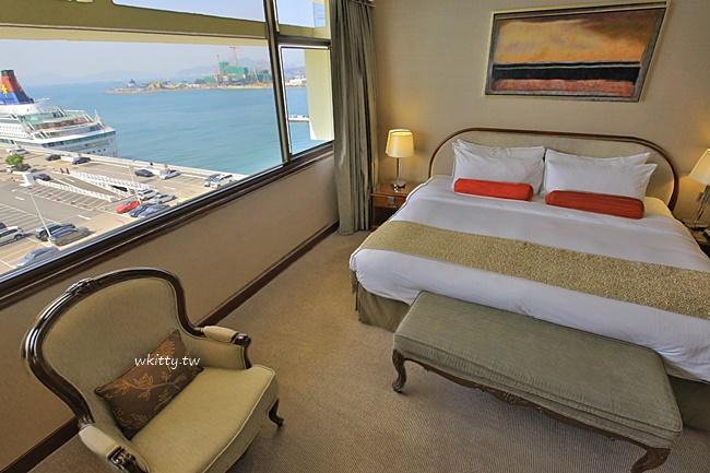 【香港港景飯店】馬可孛羅酒店,就在海港城,港景房推薦必住! @小環妞 幸福足跡