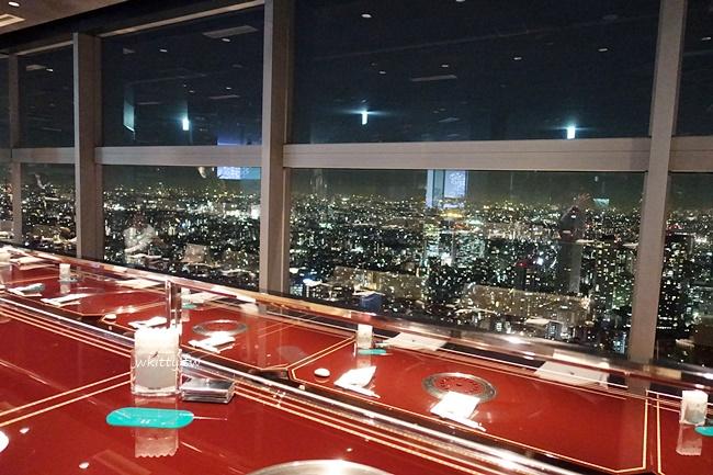 【東京夜景餐廳】新宿敘敘苑燒肉,絕美夜景推薦!Opera City 53F @小環妞 幸福足跡