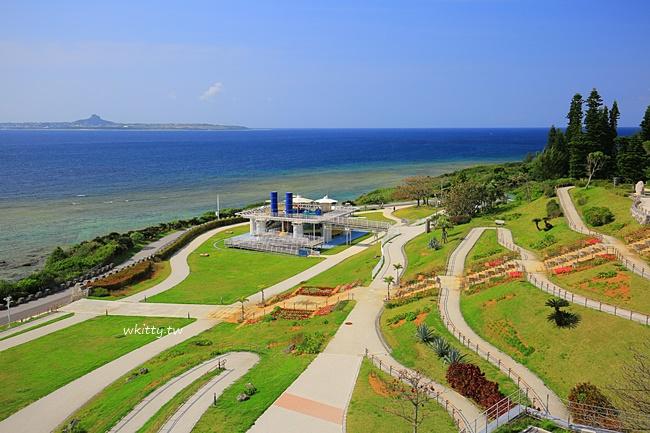 【沖繩景點】熱帶夢幻中心,海洋博公園內網紅IG打卡點,花草植物海景一次滿足 @小環妞 幸福足跡