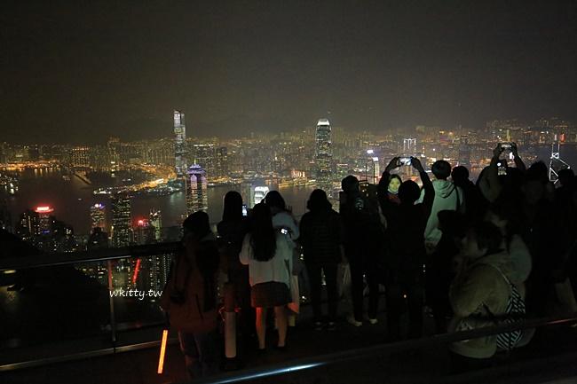【香港太平山行程攻略】搭山頂纜車上山,凌霄閣摩天台看百萬夜景 @小環妞 幸福足跡