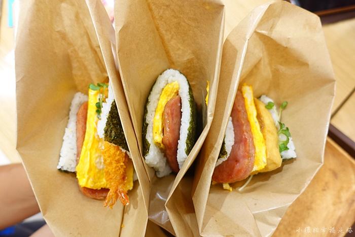 【沖繩飯糰】豬肉蛋飯糰,那霸空港國內航廈分店,必吃美食超美味! @小環妞 幸福足跡