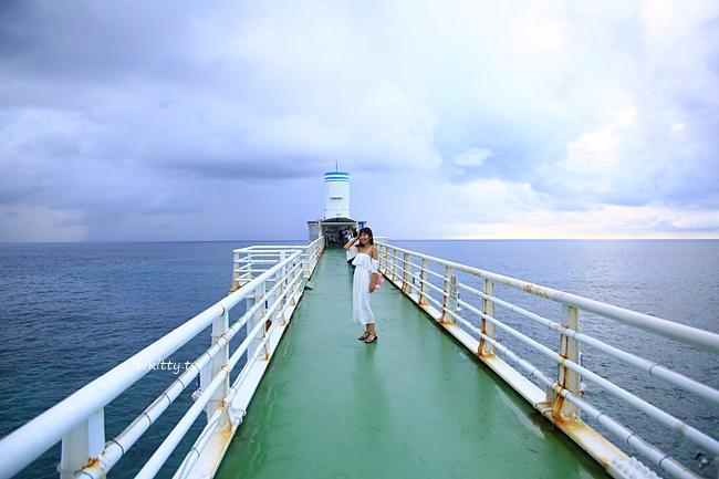 【海中展望台&玻璃船】Busena海中公園,不用浮潛就能看海中生態 @小環妞 幸福足跡