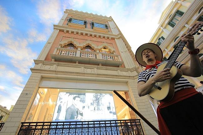 【貢多拉遊船】澳門威尼斯人必玩!搞笑又幽默的船夫唱歌 @小環妞 幸福足跡