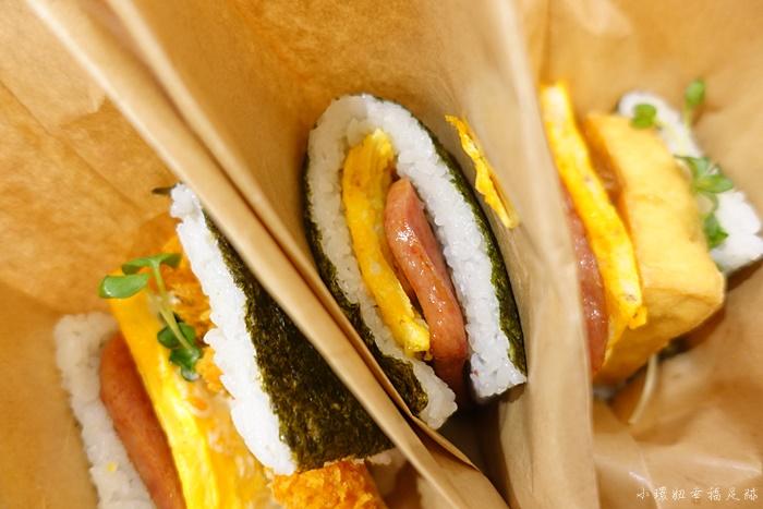 沖繩機場飯糰-豬肉蛋飯糰-來到沖繩那霸的第一餐美食 @小環妞 幸福足跡
