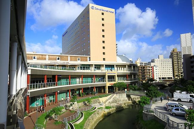 沖繩Roynet飯店-那霸便宜住宿-租車還車逛國際通搭單軌都方便 @小環妞 幸福足跡