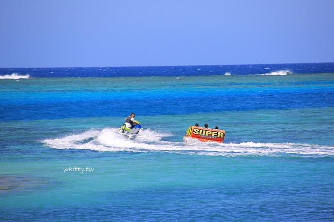 【沖繩喜來登】聖瑪麗娜飯店,沙灘海景以為來到馬爾地夫,超夢幻! @小環妞 幸福足跡