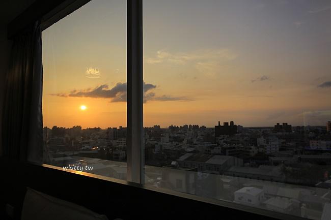 【嘉義樂客商旅】超便宜住宿!附近機能方便,房間大,還可看日落 @小環妞 幸福足跡