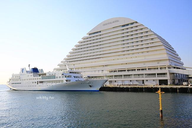 神戶船型飯店-神戶美利堅公園東方飯店-神戶港旁CP高飯店 @小環妞 幸福足跡