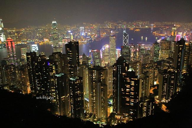 香港夜景-搭纜車上太平山行程攻略-摩天台夜景超美 @小環妞 幸福足跡