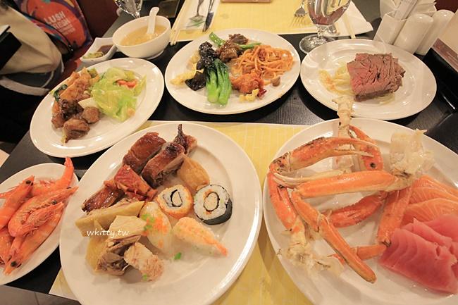 威尼斯人自助餐-渢竹餐廳-澳門buffet吃到飽推薦 @小環妞 幸福足跡