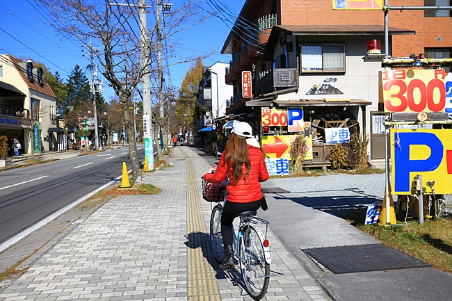 輕井澤舊銀座通老街-可安排outlet+騎腳踏車+逛老街一日遊 @小環妞 幸福足跡