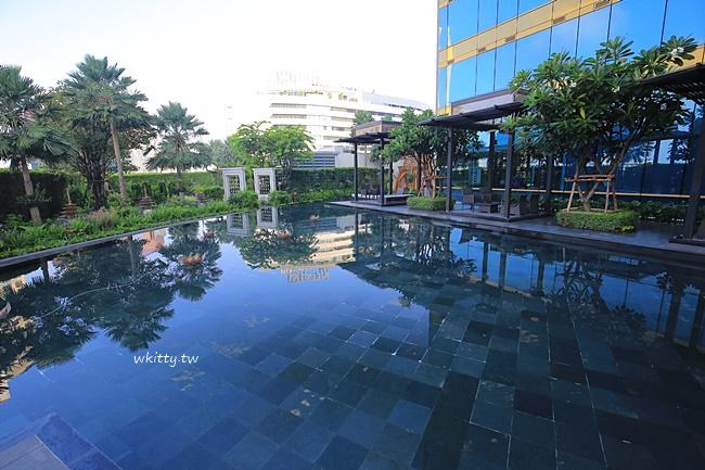 【曼谷酒店】Terminal 21中心點飯店,asok捷運旁住宿,無邊際泳池 @小環妞 幸福足跡