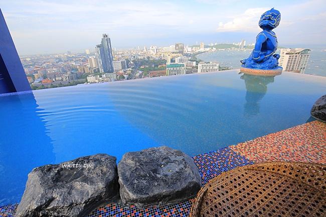 【芭達雅住宿推薦】Siam@Siam飯店,高空酒吧無邊際泳池無敵讚! @小環妞 幸福足跡