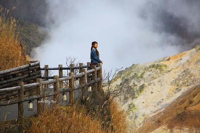 【北海道登別景點一日遊】登別地獄谷,大湯沼天然足湯,登別溫泉街 @小環妞 幸福足跡