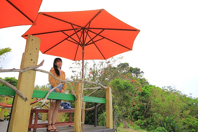 【沖繩名護美食】亞熱帶茶屋,沖繩北部花人逢旁南洋風海景餐廳 @小環妞 幸福足跡