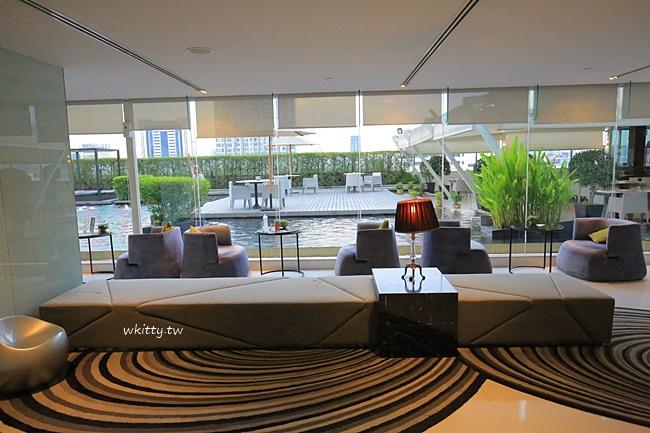 【水門市場住宿】推薦!曼谷盛泰樂水門飯店,水池villa,逛街首選 @小環妞 幸福足跡