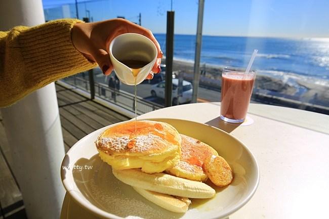 鎌倉鬆餅-bills鬆餅-美食搭配超美海岸線&富士山美景 @小環妞 幸福足跡
