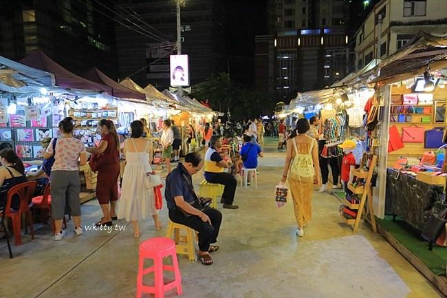 霓虹夜市-曼谷夜市推薦-有的吃有得買-2018最新食記 @小環妞 幸福足跡