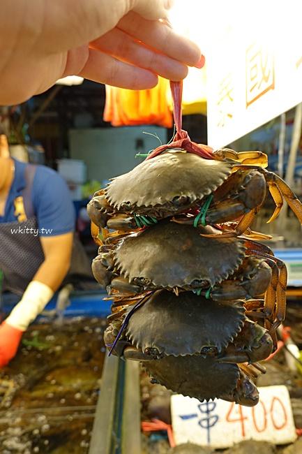 【竹圍漁港美食】桃園海鮮餐廳推薦,生魚片,龍蝦,螃蟹代客料理 @小環妞 幸福足跡