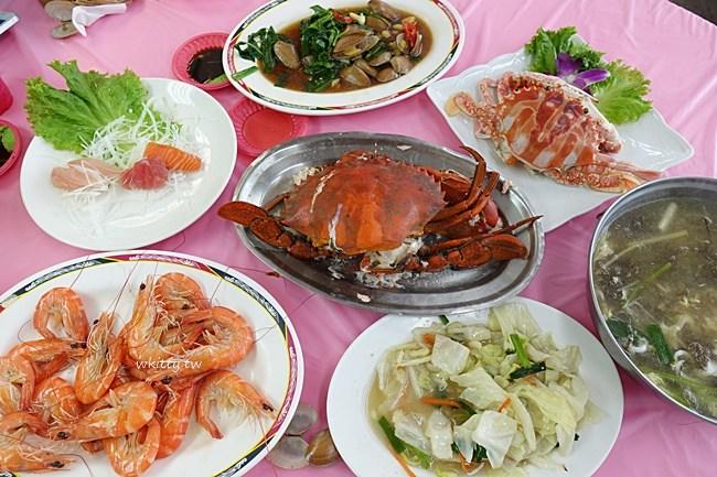 竹圍漁港一日遊-教你怎麼吃-怎麼挑海鮮-代客料理餐廳推薦 @小環妞 幸福足跡