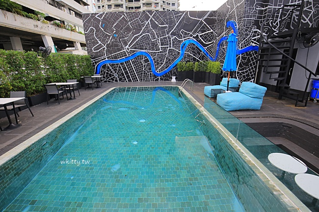 【曼谷新飯店】Haven't Met Silom,BTS站旁,浪漫高空酒吧飯店 @小環妞 幸福足跡