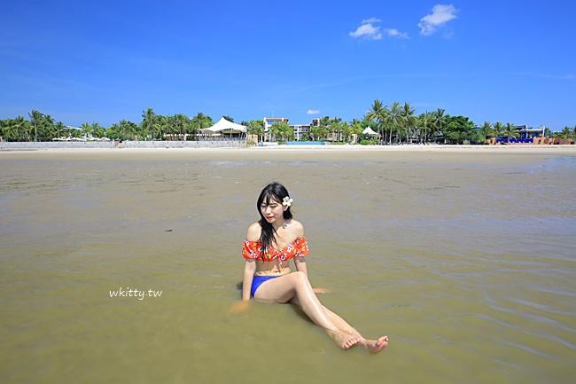 【華欣便宜villa】Palayana泳池渡假村,高級沙灘海景五星飯店 @小環妞 幸福足跡