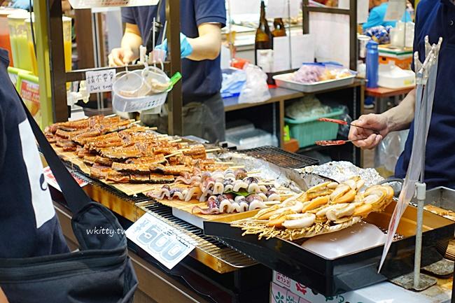 【2019大阪黑門市場】美食-藥妝-必買-必吃一籮筐,大阪人的廚房! @小環妞 幸福足跡