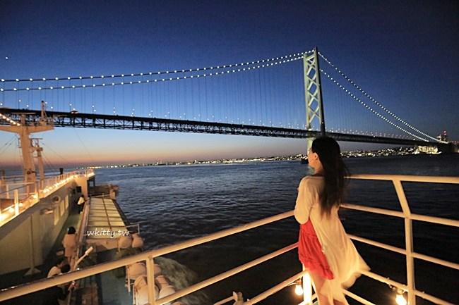 神戶遊船-神戶晚餐推薦-遊輪buffet吃到飽-夜景超正點 @小環妞 幸福足跡