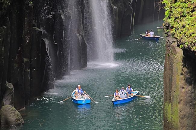 【九州高千穗峽谷】划船+流水麵,景點美食之旅,一日遊行程推薦 @小環妞 幸福足跡