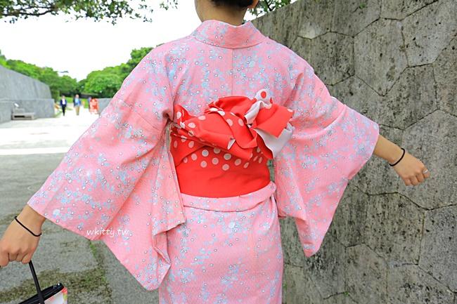 【沖繩穿和服】美櫻和服,推薦一定要來體驗預約!留下美麗倩影 @小環妞 幸福足跡