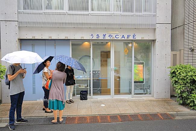 【上野咖啡廳】うさぎやCAFE兔屋銅鑼燒,限時10分鐘,晚來吃不到 @小環妞 幸福足跡