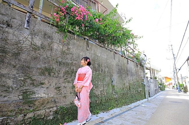 沖繩和服推薦-美櫻和服出租-預約體驗和服租借-上街寫真拍照 @小環妞 幸福足跡