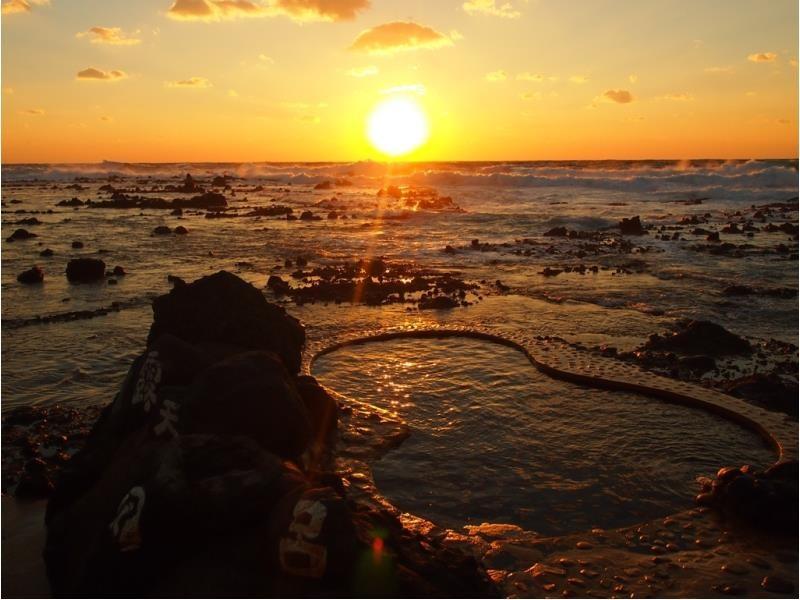 【不老不死溫泉】日本東北五能線景點必去,海邊泡溫泉,此生必來!