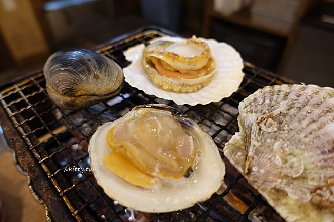 【日本磯丸水產】活鮑魚海鮮燒烤,多家分店可事先預約方便划算! @小環妞 幸福足跡