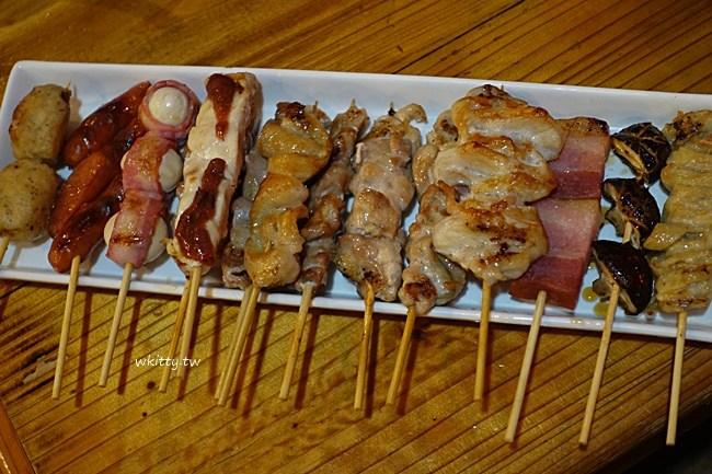沖繩吃到飽居酒屋-串角串燒-國際通美食-吃到飽喝到飽超划算 @小環妞 幸福足跡