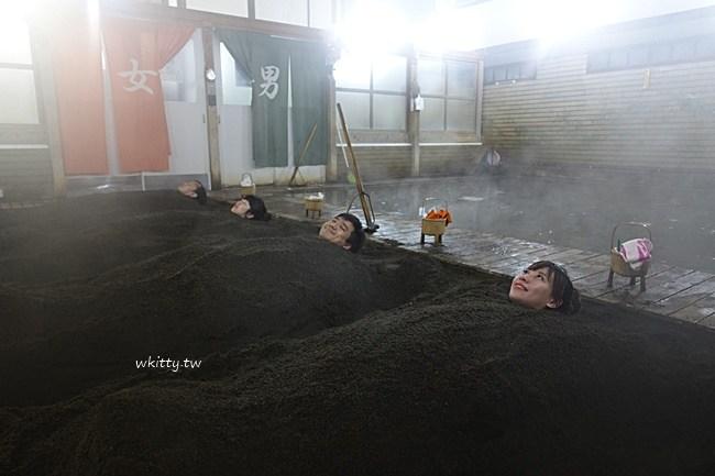 竹瓦溫泉體驗砂浴-別府沙浴-別府竹瓦溫泉-室內的砂湯-超好玩 @小環妞 幸福足跡